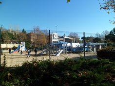 Atracciones para niños en el PARQUE PARIS DE LAS ROZAS