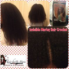 Hair By Ms Marie Gods Favored Invisible Crochet  #HairByMsMarieGodsFavored