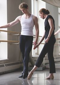 How to break the bad habits of dance. Floppy wrists, feet and shoulders. Pointe magazine