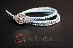 DIY Jewelry DIY Bracelet DIY Wrap bracelet from Molly O Designs