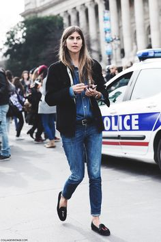 STREET STYLE PFW IV - http://www.collagevintage.com/2015/03/street-style-pfw-iv/