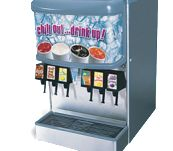 Comes with key lock switch, cold carb ice cooled dispenser have standard 15 watt fluorescent light bulb and interchangeable front graphics.