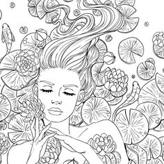 I love #coloring! This is probably one of the most beautiful pages I ...
