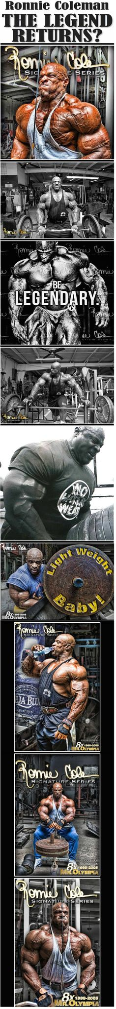 #Ronnie_Coleman ☞ Best ever made. You deserve the best and now are the best