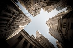 Manhattan with my #Fisheye  #NewYork #NewYorkCity #500px #NYC #photography #Manhattan #architecture #urban #building #city #sky #Nikon #Samyang