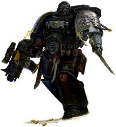 Ultramarine in the Death Guard
