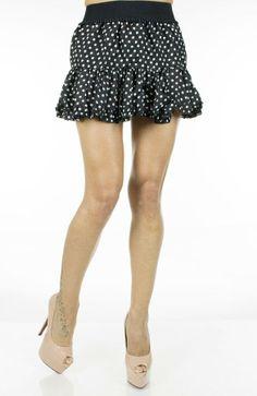 Fusta Dama Stained  Fusta dama mini. Material vaporos, ideal pentru sezonul cald.  Detaliu - pliuri in partea de jos.     Lungime: 35cm  Latime talie: 35cm  Compozitie: 100%Poliester Mini Skirts, Floral, Design, Fashion, Moda, Fashion Styles, Flowers, Mini Skirt