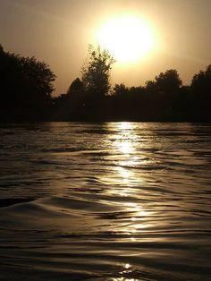 Sunset in Mosul, Iraq