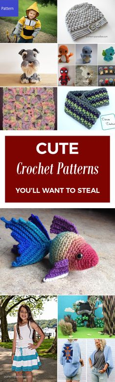 20 Cute Crochet Patterns You'll Want To Steal