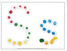 Scroll to the end of the post, and there are some good uses for Bingo daubers for preschoolers!