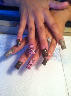 Like the shape of SOME of these nails but they aren't consistent...
