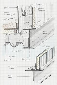 Pre Manufactured homes Detail Architecture, System Architecture, Architecture Building Design, Concrete Architecture, Facade Design, House Architecture, Computer Architecture, Architecture Sketchbook, Victorian Architecture