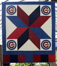 Burlap Garden Flag Chicago Cubs Garden Flag Sports Baseball