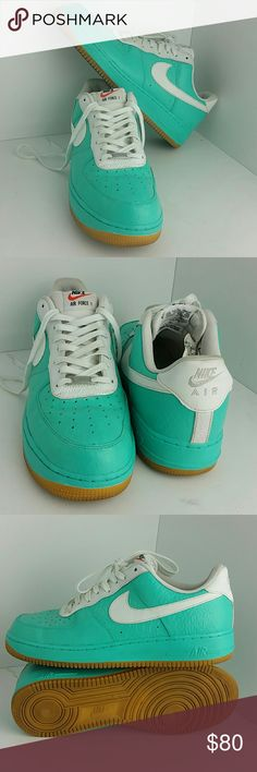 NIKE AIR FORCE 1 07 LV8 MEN'S SHOES VERY CLEAN INSIDE-OUT   CUSTOM PAINT . NIKE Shoes Athletic Shoes