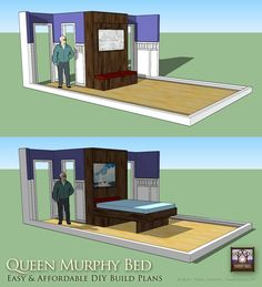 1000 Images About Murphy Bed Photos And Plans On