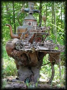 Here, There, and Everywhere 2nd edition  fairy house