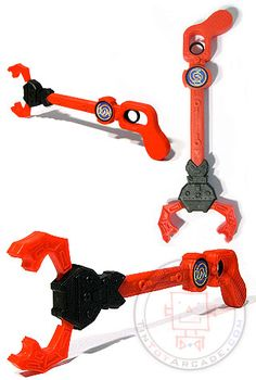 robot claw favor ($3.98). Also in blue and green