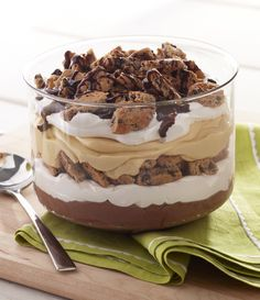 Try this Peanut Butter-Chocolate Trifle with CHIPS AHOY! Cookies and send your taste buds on a sweet vacation.
