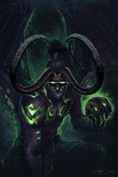 Fantastic Cost-Free World Of warCraft crafts Strategies : Photo. Warcraft Heroes, World Of Warcraft 3, Warcraft Art, Fantasy Demon, Dark Fantasy, Fantasy Art, Illidan Stormrage, Human Body Art, War Craft