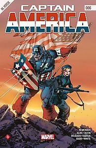 Captain America; Marvel; 6; Comic; Jet, de dochter van Arnim Zola die met Steve Rogers meekwam uit Dimensie Z, kan maar moeilijk wennen aan het leven in onze wereld. Ze komt voor een dilemma te staan als ze wordt uitgenodigd om zich aan te sluiten bij een van Captain America's andere aartsvijanden. Intussen krijgen Cap en Falcon te maken met de geheimzinnige Dr. Mindbubble. Zal het deze gevaarlijke gek lukken de gevreesde Gungnir-helicarrier in handen te krijgen?