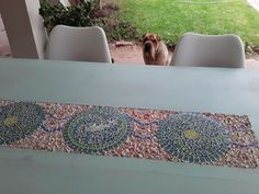 Project done by Esmerie du Randt using Woodoc Water-Borne MARINE and Woodoc Colours Gentle Green.