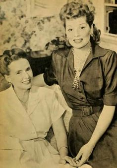 Lucy with her mother DeeDee