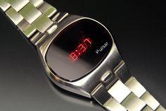 Pulsar P4 Big Time Men's Watches, Retro Watches, Watches For Men, Watch Room, Led Watch, Game & Watch, Digital Watch, Smart Watch, Jewels