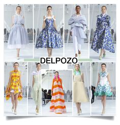 """""""Delpozo Spring Summer 2017 New York"""" by nindi-wijaya ❤ liked on Polyvore featuring Delpozo and NYFW"""