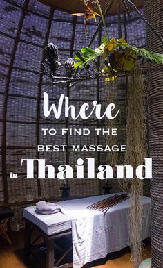 Getting a Thai massage is a good enough reason for a trip to Bangkok or Phuket. But where to go? Here my favorite places for the best massage in Thailand - city, beach & mountain views included! Thailand Honeymoon, Thailand Travel Guide, Bangkok Travel, Bangkok Hotel, Nightlife Travel, Bangkok Thailand, Bangkok Shopping, Best Bars In Bangkok, Honeymoon Trip