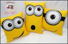 Almofada Minions by My Craft