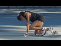"""""""What makes Allyson truly fearless: she's not afraid to lose. If you're not afraid of that, you go after everything. You look at whatever your wildest dream . Allyson Felix, Hopman Cup, Davis Cup, Sports Fanatics, Sports Brands, Recorded Books, Track And Field, Nike, Just Do It"""