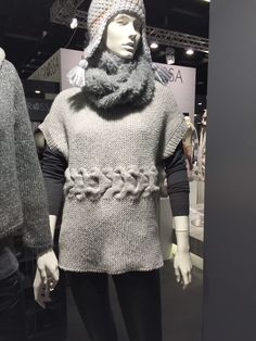 Seen at Cologne h&h yarn show