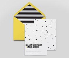 Zaproszenia ślubne / wedding invitations | Goodlove Studio » Kolekcja:_Kropki