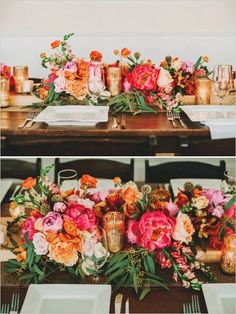 gold and pink tablescape ideas, Floral by Unexpected Elements, Joyful Details Event Planning Hawaiian Pink And Gold Wedding at Dillingham Ranch filled to the brim with elegant wedding ideas, that are still island style. Pink And Gold Wedding, Orange Wedding, Floral Wedding, Fall Wedding, Wedding Bouquets, Wedding Ideas, Trendy Wedding, Hawaiian Wedding Flowers, Gerbera Wedding
