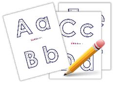 Printable Learning To Write The Alphabet Worksheets