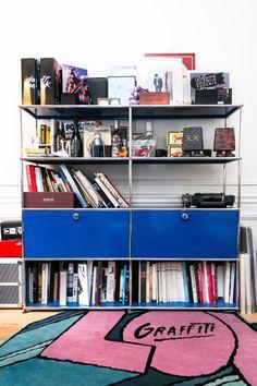 Casa di Gildas Loaec, ex direttore creativo dei Daft Punk e tra i fondatori di Kitsuné! Anche lui utilizza USM Modular Furniture