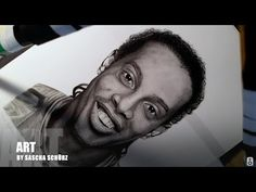 Drawing Ronaldinho Gaucho realistic Pencil and Charcoal Portrait by Sascha Schürz Pencil Portrait Drawing, Drawing Tutorials For Beginners, Charcoal Portraits, Gaucho, Black And White, Drawings, Amazing, Artwork, Work Of Art