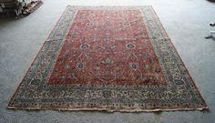 6'8''x10' Oushak Rug Vintage Rug Oriental