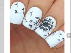 Awesome Dandelion Nails