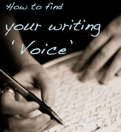 How to Find Your Writing Voice