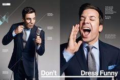 Jimmy Fallon. Peter Yang for Wired magazine