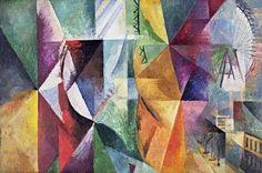 La Tour et la Roue, par Robert Delaunay