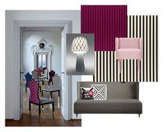 """lacroix-hannabi 2"" by bekokati-1 on Polyvore featuring interior, interiors, interior design, home, home decor, interior decorating and Christian Lacroix"