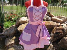 Princess Rapunzel inspired Sassy Apron Scarlet Chic by sassyapron