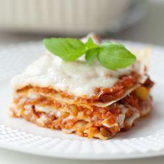 Wegetariańska lasagne bolognese   Kwestia Smaku