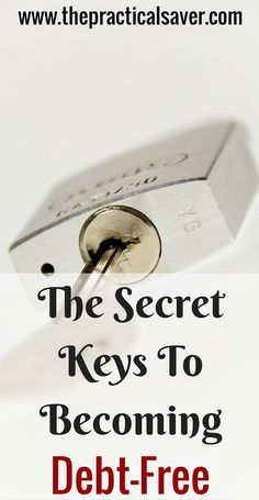 "This "" The Secret Keys To Becoming Debt-Free "" discusses the virtues in life that are critical to solving debt problems. Of course, money is key to becoming debt-free but mindset and attitude as important as money in dealing with debt."