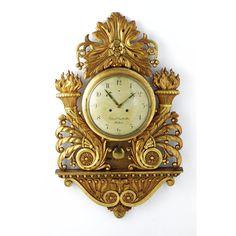 A Swedish giltwood cartel clock,<br><P>circa 1825</P> | lot | Sotheby's