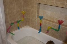 Pipes and Gutters | Activities For Children | Bath Time Fun, Do It Yourself, Outdoor Play, Sensory Activities, Water Play | Play At Home Mom