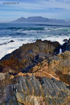 Cape Town, as seen from Robben Island.