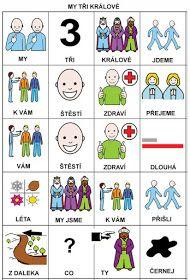 Pro Štípu: My tri kralove Preschool, Language, Education, Comics, Learning, Logos, Children, Advent, Music